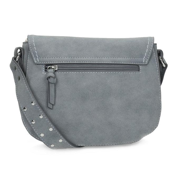 Crossbody kabelka se cvočky na popruhu gabor-bags, modrá, 961-9015 - 16