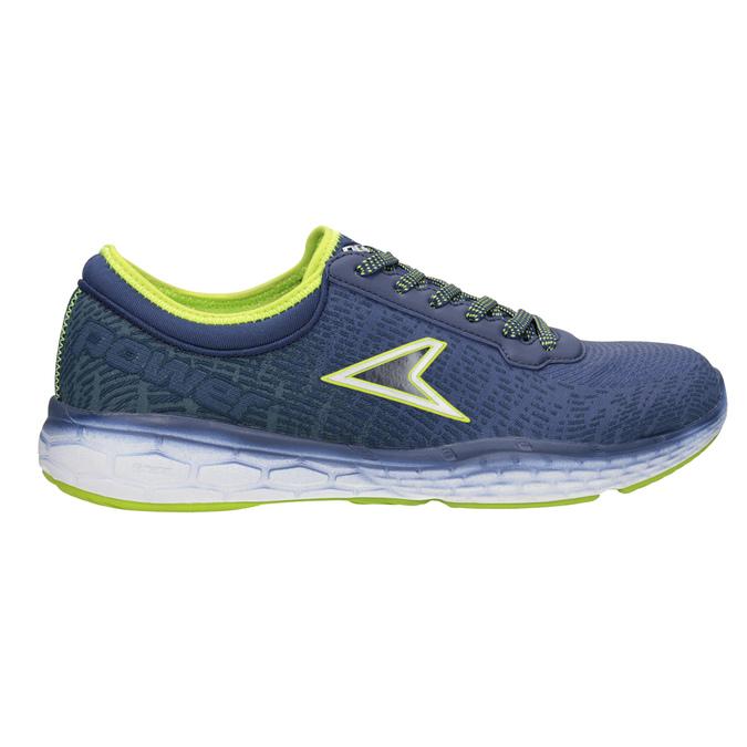 Pánské tenisky ve sportovním designu power, modrá, 809-9852 - 26