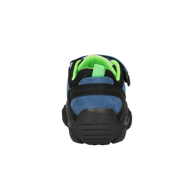 Dětské tenisky v outdoorovém stylu mini-b, modrá, 413-9605 - 16