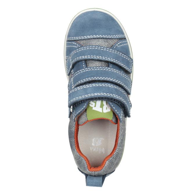 Dětské tenisky v denimovém designu mini-b, modrá, 213-9600 - 15