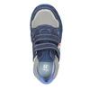 Modré kožené tenisky dětské mini-b, modrá, 213-9604 - 15