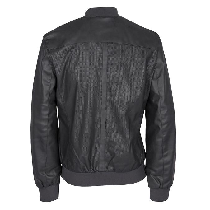 Pánská bunda s perforací bata, černá, 971-9197 - 26