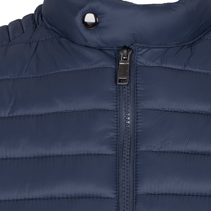 Pánská prošívaná bunda modrá bata, modrá, 979-9114 - 16