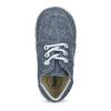 Dětské kotníčkové tenisky bata, modrá, 113-9609 - 17
