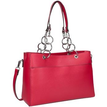 Červená dámská kabelka bata, červená, 961-5343 - 13