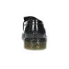 Kožené pánské mokasíny na výrazné podešvi bata, černá, 814-6176 - 15