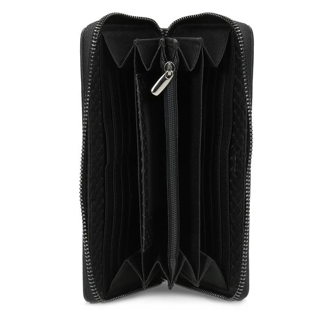 Kožená dámská peněženka se šupinami gabor-bags, černá, 946-6002 - 15