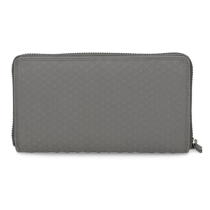 Kožená šedá peněženka dámská gabor-bags, šedá, 946-8002 - 16