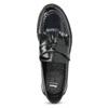 Kožené pánské mokasíny na výrazné podešvi bata, černá, 814-6176 - 17