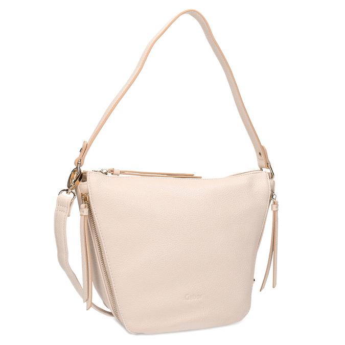 Růžová kabelka se zipy gabor-bags, růžová, 961-5003 - 13