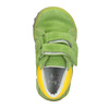 Dětská kotníčková obuv z broušené kůže bubblegummers, zelená, 113-7608 - 15