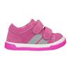 Růžové dívčí tenisky z kůže bubblegummers, 123-5607 - 26