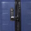 Modrý cestovní kufr na kolečkách roncato, modrá, 960-9610 - 15