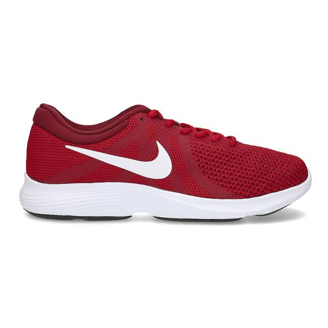 Červené pánské tenisky sportovního vzhledu nike, červená, 809-5651 - 19