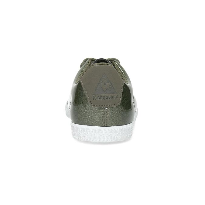 Lesklé dámské khaki tenisky le-coq-sportif, khaki, 501-7305 - 15