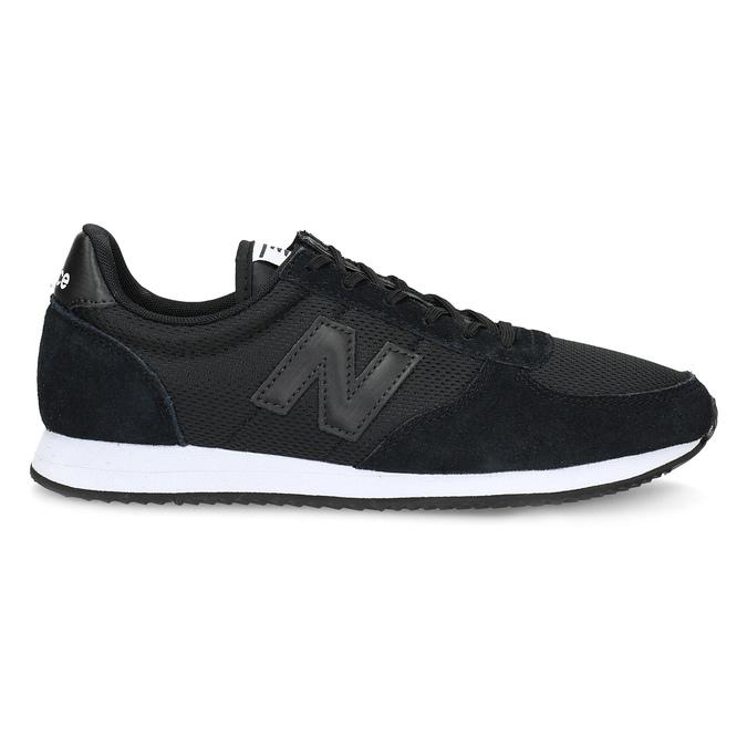 Černé dámské tenisky sportovního střihu new-balance, černá, 509-6871 - 19