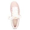 Růžové kožené tenisky se saténovou mašlí puma, růžová, 503-5738 - 17