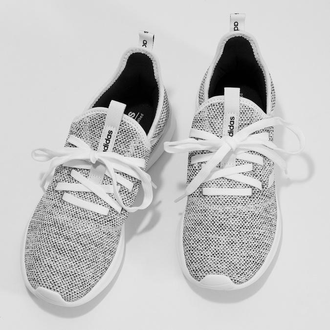 Tenisky s vykrojením v patní části adidas, šedá, 509-2569 - 16