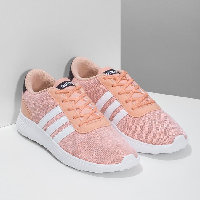 Dívčí tenisky v lososovém odstínu adidas, růžová, 409-5388 - 26