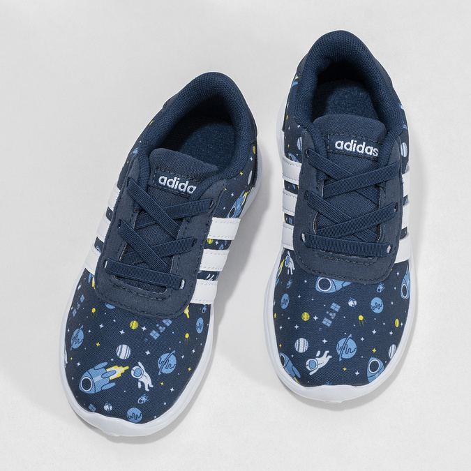 Dětské tenisky s vesmírným potiskem adidas, modrá, 109-9388 - 16