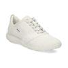 Dámské kožené bílé tenisky geox, béžová, 549-1001 - 13