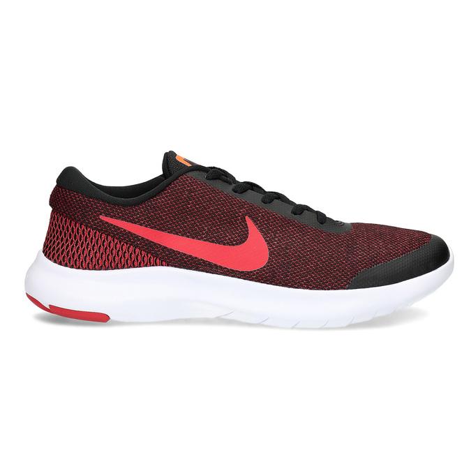 Pánské tenisky s pleteným svrškem nike, červená, 809-5716 - 19
