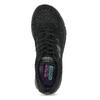 Černé sportovní Skechers tenisky skechers, černá, 509-6321 - 17