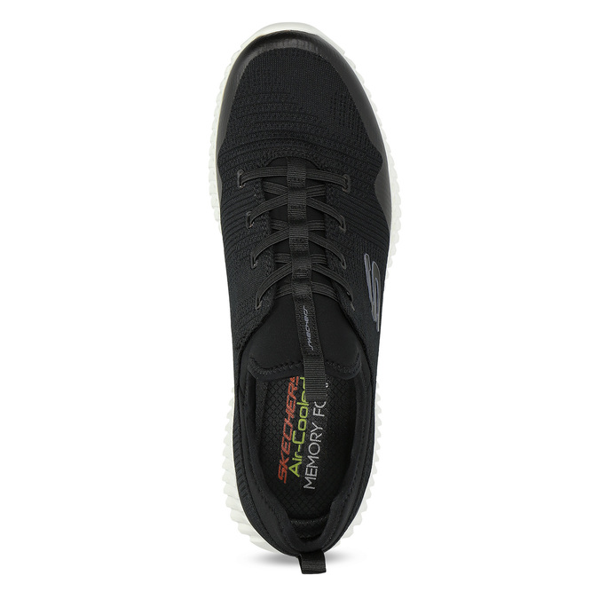 Skechers tenisky s vykrojením kolem kotníku skechers, černá, 809-6807 - 17