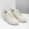 Dámské kožené bílé tenisky geox, béžová, 549-1001 - 26