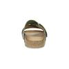 Khaki kožené nazouváky bata, khaki, 866-7647 - 15