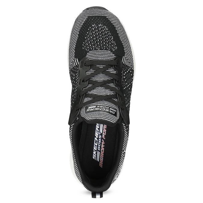 Dámské černo-bílé tenisky skechers, černá, 509-6990 - 17