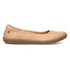 Kožené béžové dámské baleríny el-naturalista, béžová, 526-8011 - 19