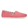 Růžové dámské slip-on toms, růžová, 519-5017 - 19