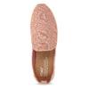 Dámské slip-on starorůžové toms, růžová, 519-5012 - 17