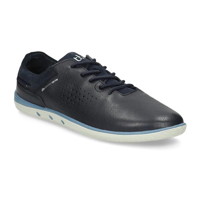 Pánské kožené tenisky modré tbs-, modrá, 826-3053 - 13