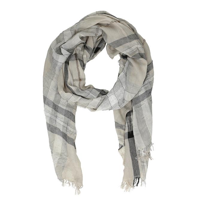 Dámský károvaný šátek bata, vícebarevné, 909-0324 - 26