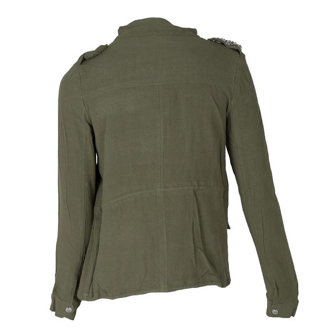 Dámská bunda v army stylu bata, zelená, 979-7112 - 26