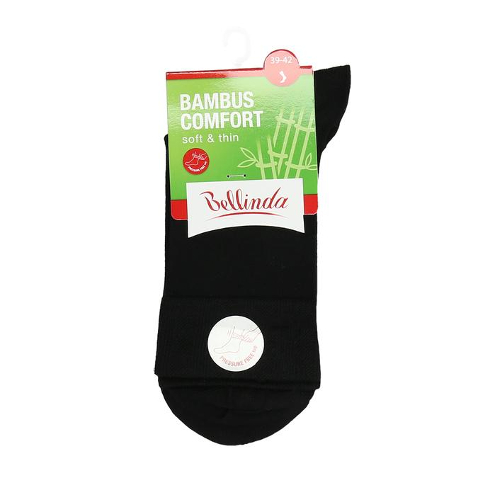 Vysoké černé ponožky s bambusem bellinda, černá, 919-6715 - 13