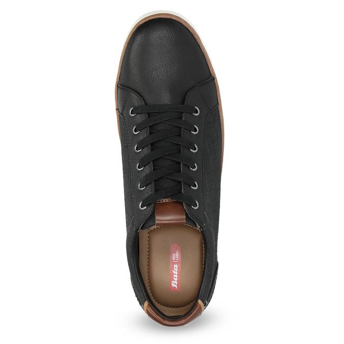 Pánské ležérní tenisky bata-red-label, černá, 841-6616 - 17