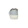 Světle modré dámské tenisky bata-bullets, modrá, 589-2333 - 15
