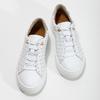 Dívčí kožené bílé tenisky s hvězdičkami bullboxer, bílá, 326-1607 - 16