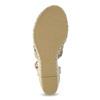 Proplétané sandály na platformě bata, růžová, 759-8633 - 18