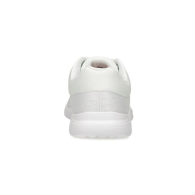 Bílé dámské tenisky sportovního střihu power, bílá, 509-1855 - 15