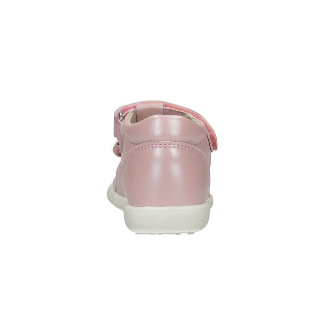 Dětské růžové sandály s mašličkou bubblegummers, růžová, 161-5608 - 15