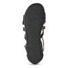 Dívčí páskové sandály bullboxer, černá, 361-6610 - 18