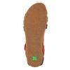 Dámské kožené sandály el-naturalista, červená, 564-5011 - 26