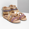 Páskové sandály v Etno stylu bullboxer, béžová, 361-8611 - 26