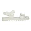 Bílé dívčí sandály se strukturovanou podešví mini-b, bílá, 361-1613 - 16