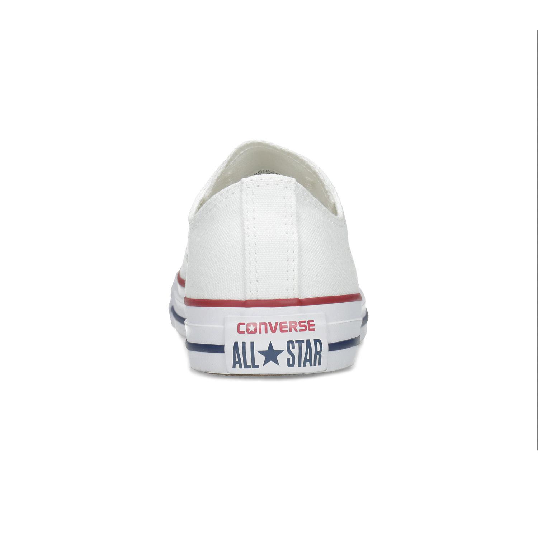 Converse Dámské bílé tenisky s gumovou špičkou - Městský styl  7ce4e6ebc1