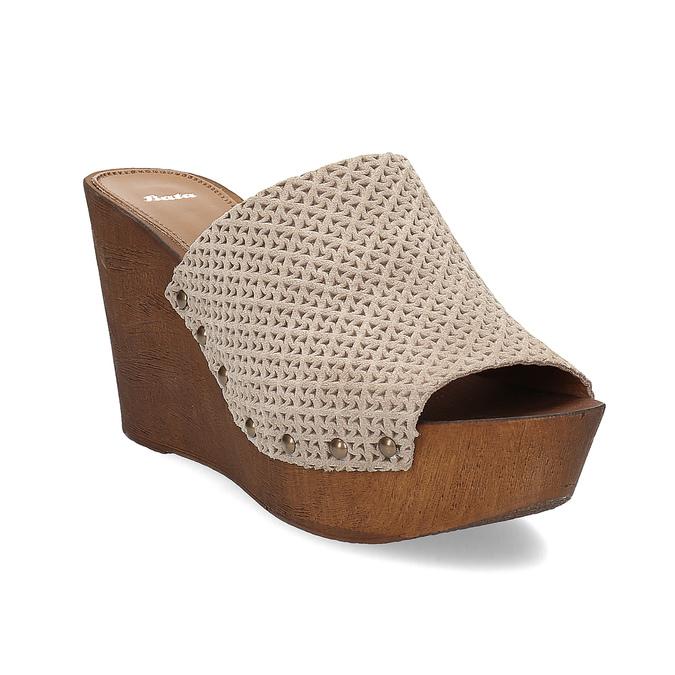 85ede396d732 Baťa Dámské dřeváky na platformě - Všechny boty